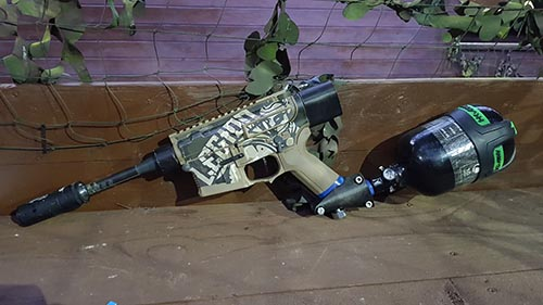 How important is this gun to both Airsoft and Paintball?